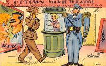 mil201332 - Military Comic Postcard, Old Vintage Antique Post Card