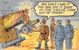 mil201334 - Military Comic Postcard, Old Vintage Antique Post Card