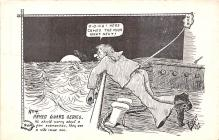 mil201345 - Military Comic Postcard, Old Vintage Antique Post Card