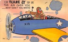 mil201393 - Military Comic Postcard, Old Vintage Antique Post Card