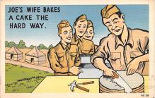 mil201394 - Military Comic Postcard, Old Vintage Antique Post Card