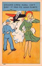 mil201471 - Military Comic Postcard, Old Vintage Antique Post Card