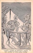 mil201481 - Military Comic Postcard, Old Vintage Antique Post Card