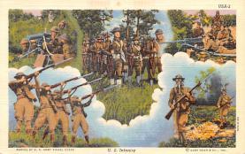 mil400087 - Military Post Card Old Vintage Antique Postcard
