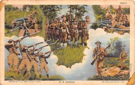 mil400127 - Military Post Card Old Vintage Antique Postcard