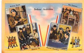 mil400161 - Military Post Card Old Vintage Antique Postcard
