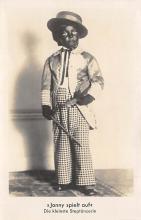 min000002 - Jonny Spielt Auf Die Kleinste Steptanzerin Minstrel Postcard Post Cards Old Vintage Antique