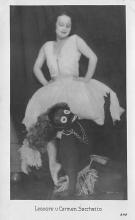 min000007 - Leonore u Carman Sacchetto Minstrel Postcard Post Cards Old Vintage Antique