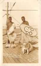min000012 - Neptunes Canibals, Crossing the line, USS Penn Minstrel Postcard Post Cards Old Vintage Antique