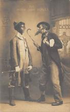 min000013 - The Darky Junk Dealer Minstrel Postcard Post Cards Old Vintage Antique