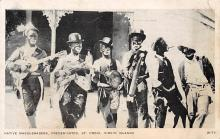 min000024 - Native Masqueraders, Frederiksted, St. Croix, Virgin Islands Minstrel Postcard Post Cards Old Vintage Antique