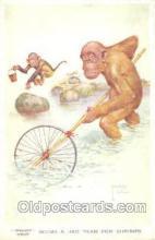 mky001013 - Artist Lawson Wood, Monkey, Monkeys Postcard Postcards