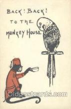 mky001030 - Monkey, Monkeys, Gorilla, Gorillas Postcard Postcards