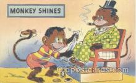 mky001033 - Monkey, Monkeys, Gorilla, Gorillas Postcard Postcards