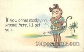 mky001035 - Monkey, Monkeys, Gorilla, Gorillas Postcard Postcards