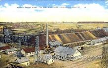 mng001004 - Mesaba Range Mine, Minnesota, USA, Arrowhead Country, Mining Postcard Postcards