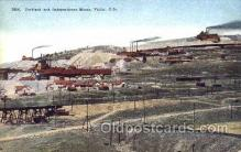 mng001006 - Portland & Independence Mines, Victor, Colorado, USA Mining Postcard Postcards