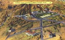 mng001020 - El Paso Texas, USA, Mining Postcard Postcards