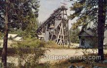mng001025 - The Old Empire Mine, Grass Valley, California, USA, Mining Postcard Postcards