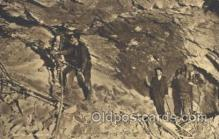 mng001059 - Underground Mining Arizona, USA Postcard Post Cards Old Vintage Antique