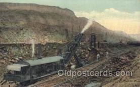 mng001072 - Panama Canal Mining Postcard Postcards