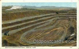 mng001089 - Buffalo Susquehanna Mine, Hibbing, Minn, Minnesota, USA Mining Postcard Postcards