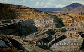 mng001095 - Berkeley, Pit, Butte, Montana, USA Mining Postcard Postcards