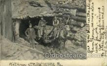 mng001097 - Mine tunnel Entrance Mining Postcard Postcards