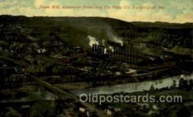 mng001099 - Sheet mill, Vandergrift, PA, Pensylvania, USA Mining Postcard Postcards