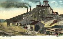 mng001110 - Coal breaker Mine, Mining, Postcard Postcards