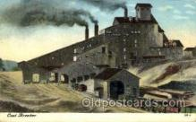 mng001112 - Coal breaker Mine, Mining, Postcard Postcards