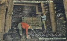 mng001152 - Coal mining, Pennsylvania, USA Mine, Mining, Postcard Postcards