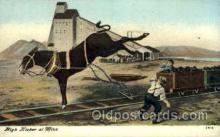 mng001154 - High kicker at mine Mine, Mining, Postcard Postcards