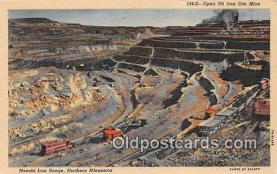 Open Pit Iron Ore Mine