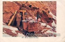 Ore Car, Loaded for the Dump