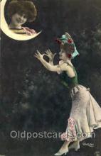 mon001007 - Moon Postcard Postcards