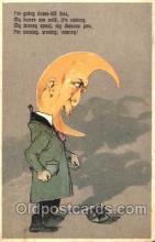mon001017 - Moon Postcard Postcards