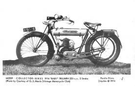 1914 Baby Triumph 225c.c. 2 stroke