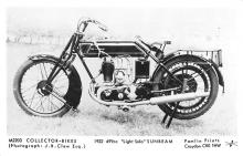 1922 499cc Light Solo Sunbeam