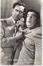 mov001001 - Abbott & Costello Actor / Actress Postcard Post Card Old Vintage Antique