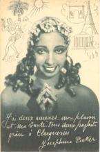 mov001030 - Josephine Baker Actor / Actress Postcard Post Card Old Vintage Antique