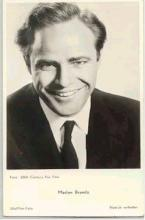 mov002033 - Marlon Brando Actor / Actress Postcard Post Card Old Vintage Antique