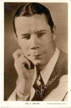 mov002039 - Joe E Brown Actor / Actress Postcard Post Card Old Vintage Antique