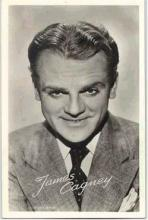 mov003001 - James Cagney Actor / Actress Postcard Post Card Old Vintage Antique