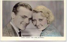 mov003004 - James Cagney Actor / Actress Postcard Post Card Old Vintage Antique