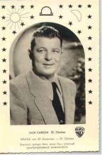 mov003011 - Jack Carson Actor / Actress Postcard Post Card Old Vintage Antique