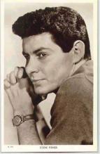 mov006016 - Eddie Fisher Actor / Actress Postcard Post Card Old Vintage Antique Movie Star