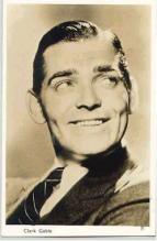 mov007006 - Clark Gable Actor / Actress Postcard Post Card Old Vintage Antique Movie Star