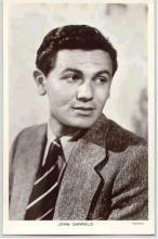 mov007013 - John Garfield Actor / Actress Postcard Post Card Old Vintage Antique Movie Star