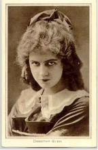 mov007030 - Dorothy Gish Actor / Actress Postcard Post Card Old Vintage Antique Movie Star